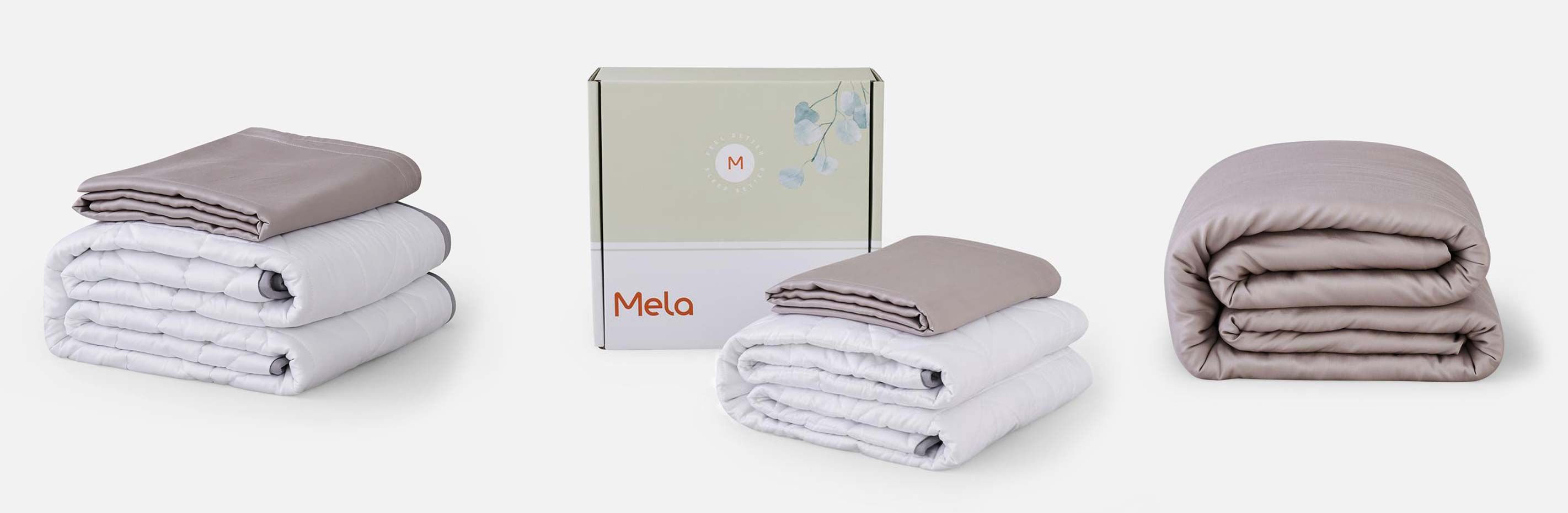 We tried a Mela Chill Weighted Blanket for 2 weeks, and here's what happened