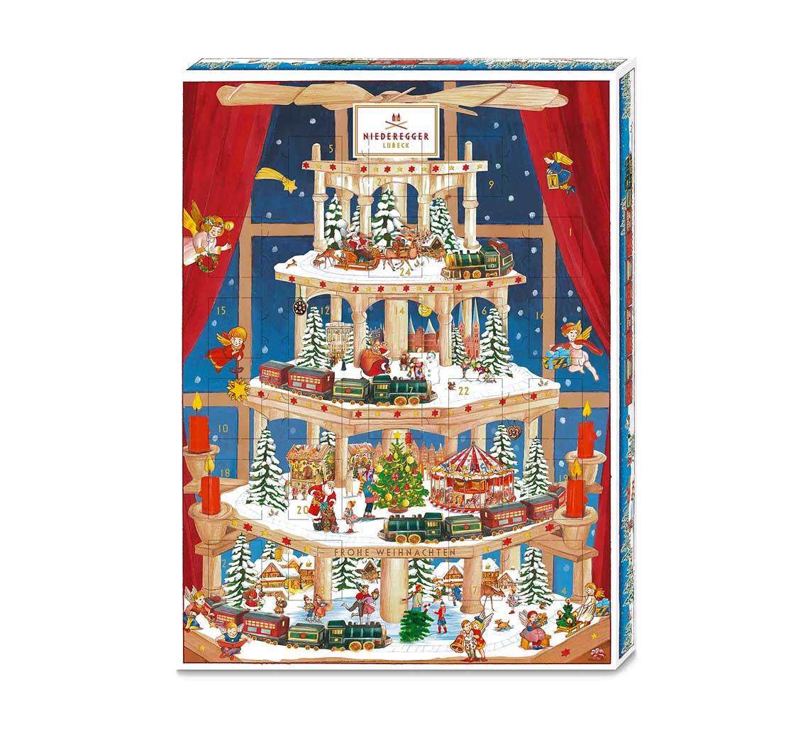 Marzipan Advent Calendar Niedergger