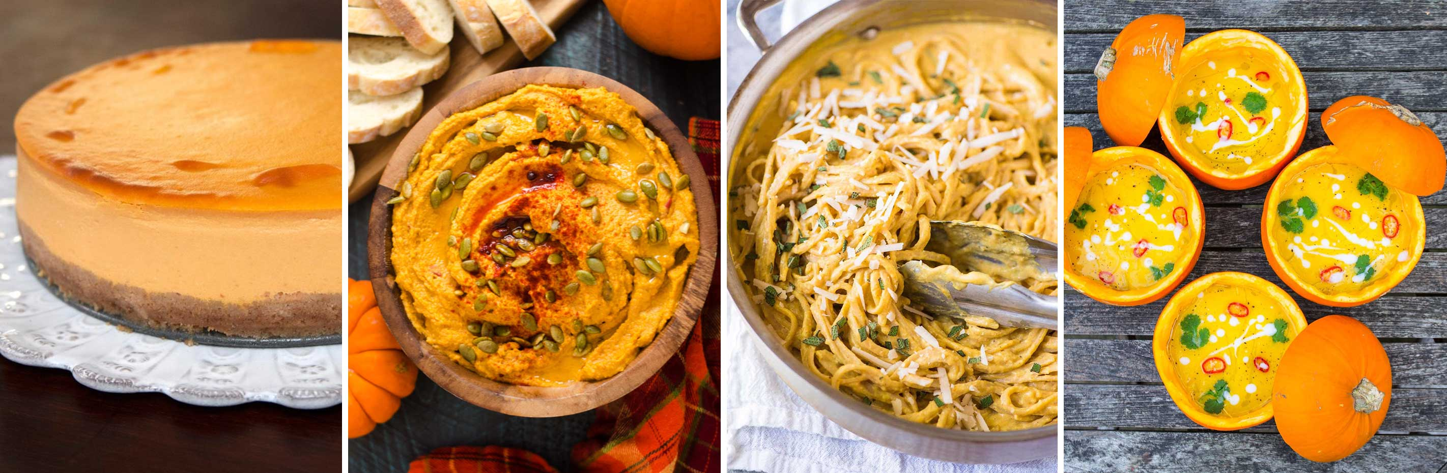 Four recipes to make sure your pumpkins don't go to waste this Halloween