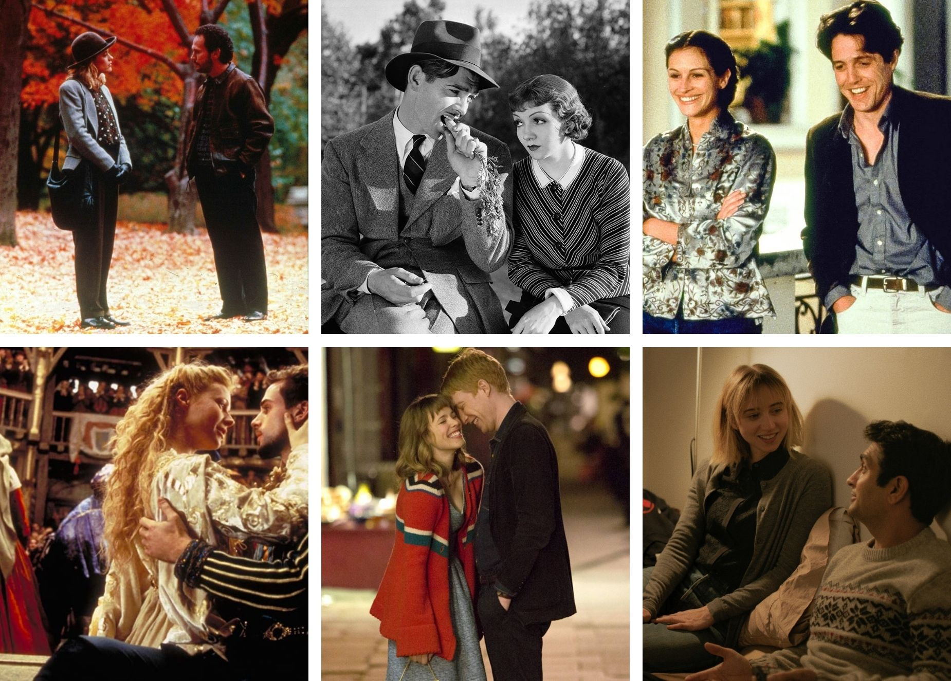 6 Rainy Day Rom-Coms