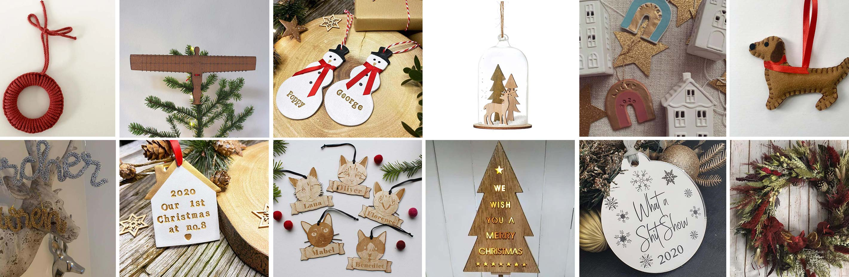 Shop Small, Shop Local: 36 Christmas Decorations from Independents Around the North East