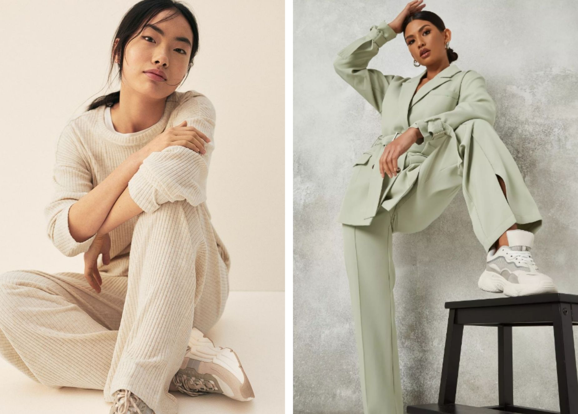 Go Big to Stay Home: The Wide Leg Trousers We Can't Get Enough Of