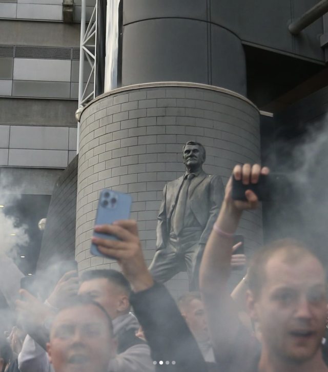 Bobby Robson Statue Takeover